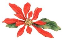 Poinsettia-christmas-vintage-clipart